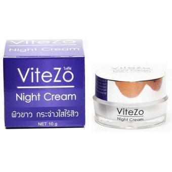 ViteZo Night Cream ไวท์โซ่ ไนท์ครีม ขนาด 10 กรัม