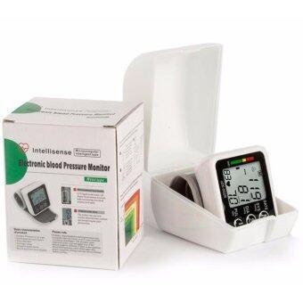 Voice LCD Display Wrist Electronic Blood Pressure Monitor Digital\nPulse bp Monitor Intellisense Microcomputer Intelligent Type