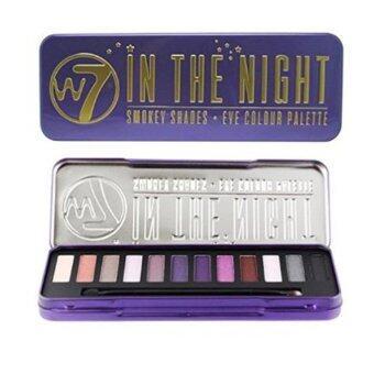 สนใจซื้อ W7 In The Night Smokey Shades Eye Colour Palette