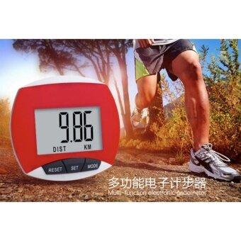 Waterproof LCD Run Step Pedometer Walking Distance Calorie CounterPedometers
