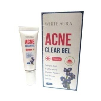 White Aura Acne Clear Gel