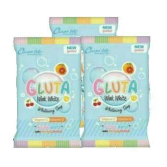 อยากขาย Wink White Gluta Whitening Soap สบู่กลูต้าผสมวิตามินC&Eขนาด 85g. ( 3 ก้อน )