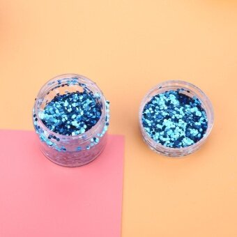 Women Nail Glitter Sequins Art Accessiory Cosmestic Tools Power Gel Bottle - intl
