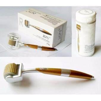 ZGTS เข็มกลิ้งรักษารักษารูขุมขนกว้าง กรอหน้า เดอร์มาโรลเลอร์ Sizes 0.30 mm ZGTS Titanium Derma Roller Skin Therapy from France Microneedle Roller - 3