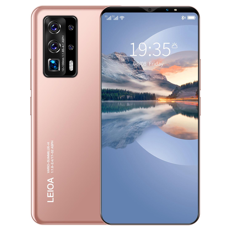 โทรศัพท์มือถือ HAUWEI P40 Pro สมาร์ทโฟน 7.5นิ้ว RAM8GB ROM512GB แบตเตอรี่ 6800MAh สแกนลายนิ้วมือ ปลดล็อคใบหน้า สเปคแท้/ราคาถูก เครื่องแท้ โทรศัพท์มือถือ