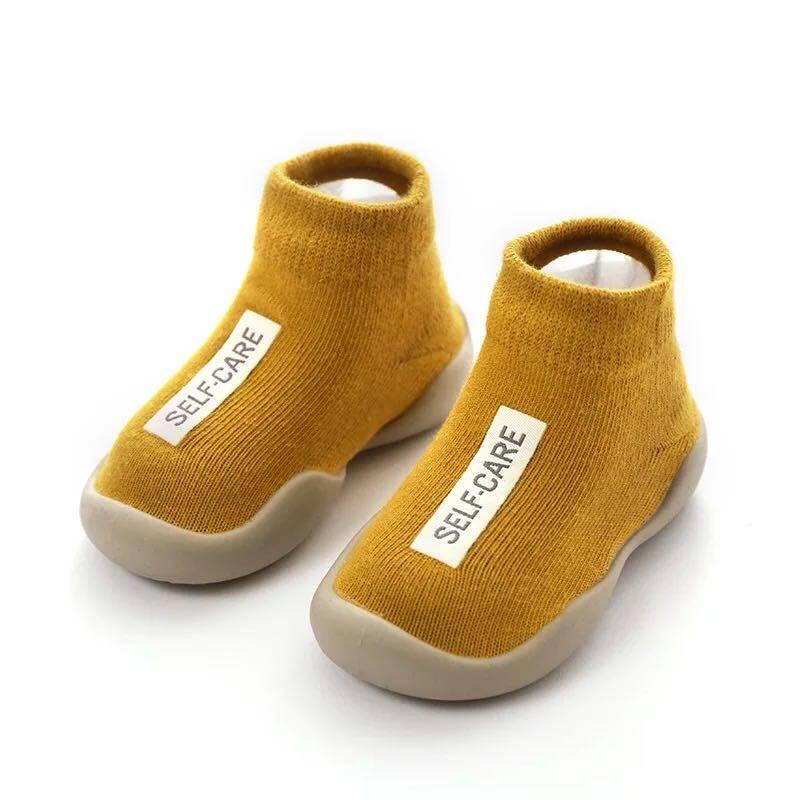 Babyonline(X127)E6รองเท้าเด็กหัดเดินข้อสั้น