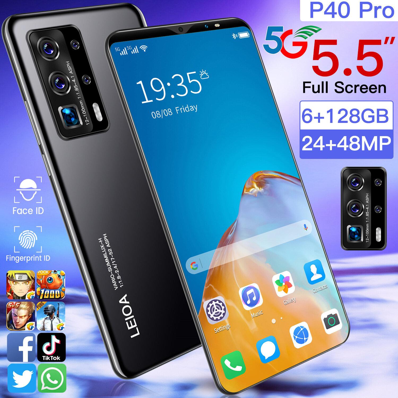 "[Pre Order 4/64GB เฉพาะสีดำ จัดส่งหลัง 22 ธ.ค.] Infinjx p40 pro (Ram 8GB + Rom 256GB/512GB) โทรศัพท์มือถือ หน้าจอ 6.9"" แบตฯอึด 4800 mAh กล้องห"