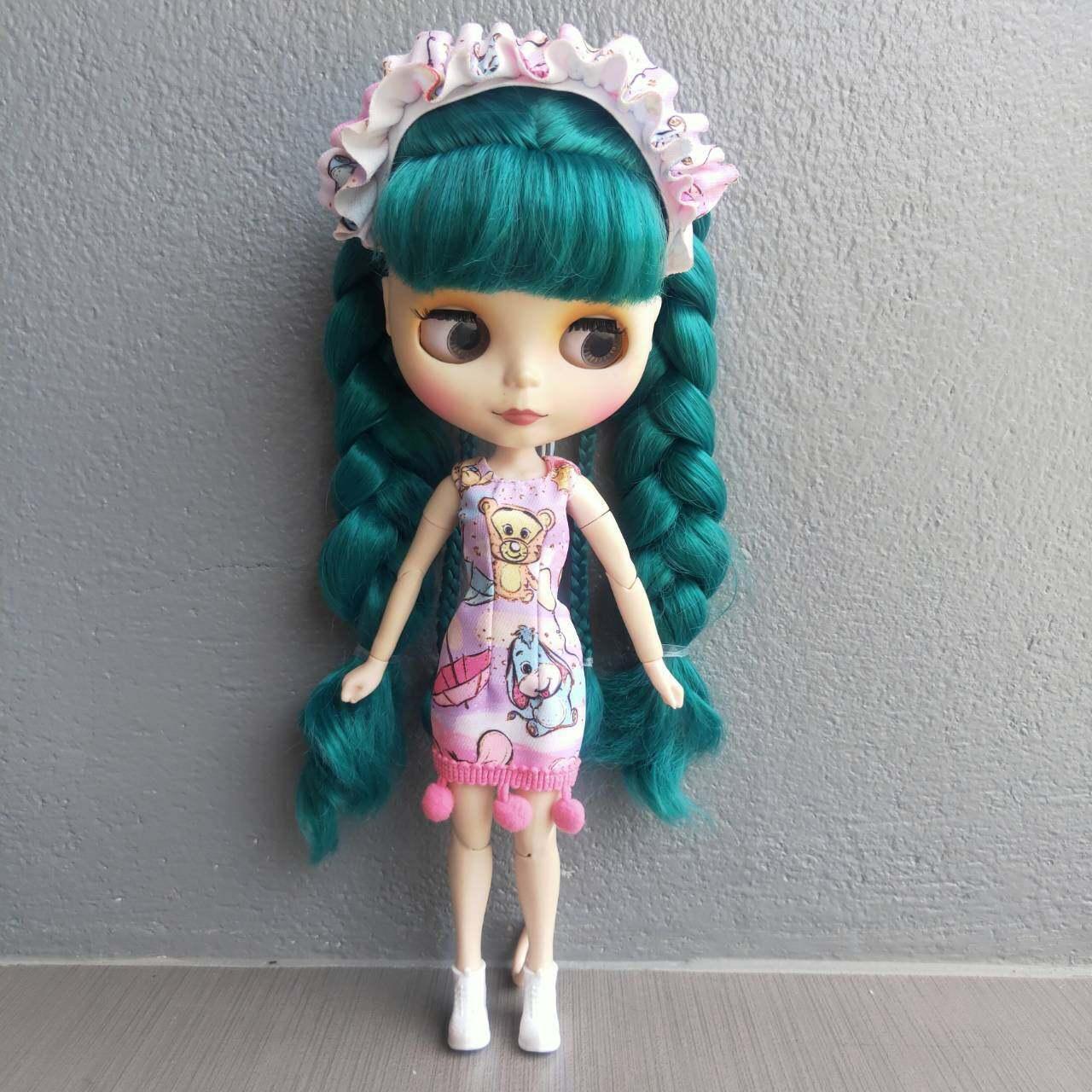 ชุดบลายธ์ บลายธ์ ชุดตุ๊กตาบลายธ์ งานสั่งตัดมีจำนวนจำกัดนะคะ Blythe 1/6 ชุดตุ๊กตา เดรสตุ๊กตา