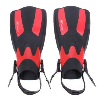 Harga 1Pair Unisex Swimming Fin Webbed Swimming Diving Training Shoe460*200*150mm/18.11*7.87*5.9'' - intl