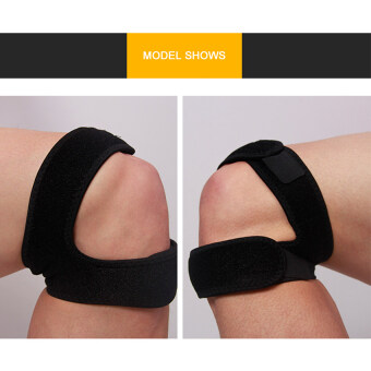 2016 High Quality Dual Action Knee Strap(black)