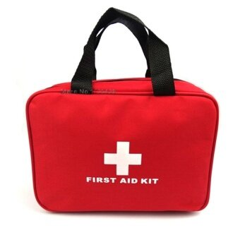 2017 First Aid Kit Big Car First Aid Kit Large Outdoor Emergency Kit Bag Travel Camping Survival Medical Kits 25*18*8 CM - intl