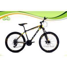 """จักรยานเสือภูเขา26"""" kiri mayon(black-yellow)"""