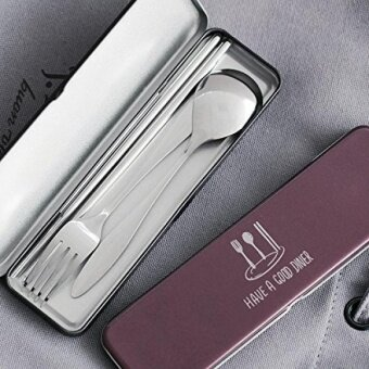 3-in-1 Stainless Steel Cutlery