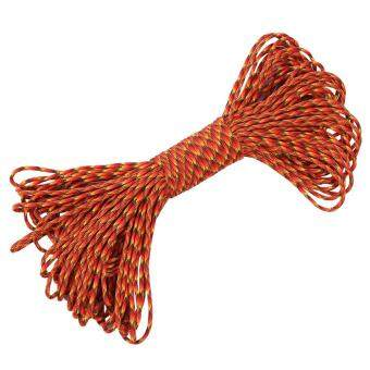 31m Camping Tent Rope Awning Guy Line Cord Kit (red and yellow) - intl - 3