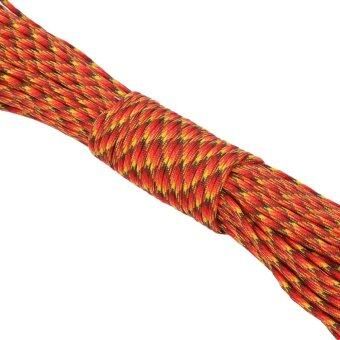 31m Camping Tent Rope Awning Guy Line Cord Kit (red and yellow) - intl - 2