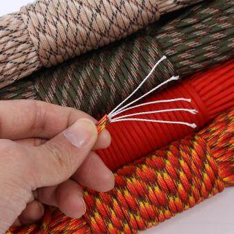 31m Camping Tent Rope Awning Guy Line Cord Kit (red and yellow) - intl - 4