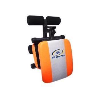 360 Ongsa Fitness เบาะนั่งซิทอัพ MINI FITNESS SIT UP BENCH ( สีส้ม/เทา ) ฟรี!! Push Up Bar สำหรับวิดพื้น (image 4)