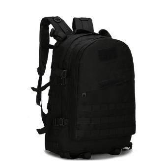 360DSC 3D40ลิตรกลางแจ้งทหารทางยุทธวิธีการแคมป์เดินป่าเดินป่าสะพายเป้กระเป๋าเป้กระเป๋าMolle-สีดำ