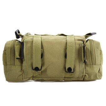 3P สบายไหล่ห่อเอวยุทธวิธีทหารกลางแจ้งกระเป๋า Molleแคมป์ปิ้งเดินป่ากระเป๋า