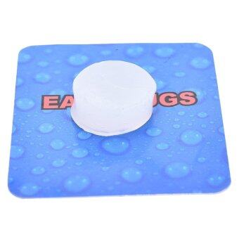 4x Soft Water Swimming Swim Bath Silicone Ear Plugs Sleep WorkNoise Reducing - intl - 2
