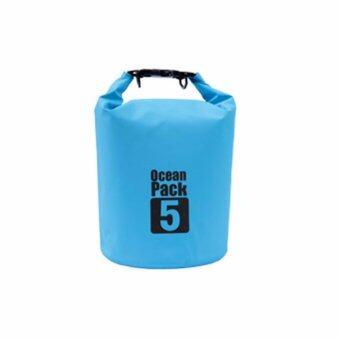 กระเป๋ากันน้ำ ถุงทะเล ถุงกันน้ำ ความจุ 5ลิตร