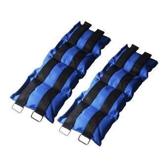 ราคา ถุงทราย ถ่วงน้ำหนัก ข้อเท้า ข้อมือ 5LB (2.5 kg) 1 คู่ / wrist weight sandbag
