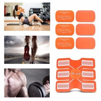 6pcs Gel Trainer Pad Muscle Sculpting Fitness Gear Accessories -intl