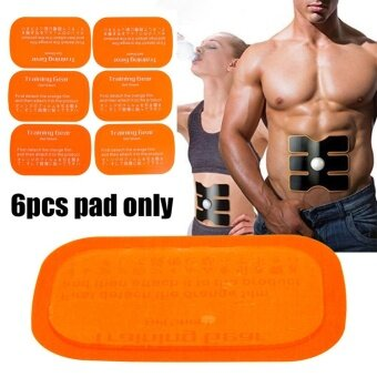 6PCS Replacement Gel Sheet Pad for Muscle Training Gear ABS Six-pad Body Fitness - intl