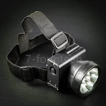 7-fourteen ไฟฉายคาดหัว ไฟ LED