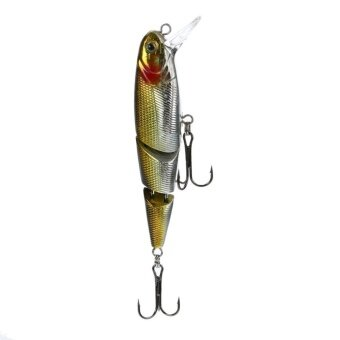 8cm Jointed Lifelike Fishing Lures Dual Hook Tackle Swim Bait Wobblers - intl