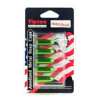 9mm TIPTON ลูกดัมมี่ (แพค 5 ลูก) (เขียว / แดง)