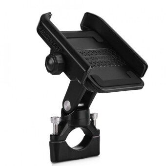 Adjustable Motorcycle Bicycle Handlebar Mount Holder Bracket for 4-6inch Mobile Phone Black - intl