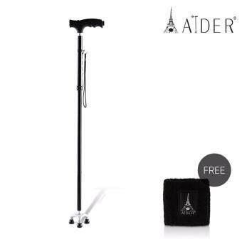 Aider ไม้เท้าช่วยพยุงเดิน แถมฟรี!! ผ้ารัดข้อมือเพื่อสุขภาพ