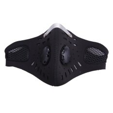 Anti-pollution Cycling Sports Face Mask Dust (Black) - intl