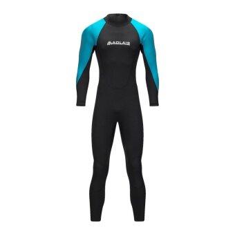 AOLAIS diving wetsuit 3mm suits for men women neoprene swimmingsurfing wet suitswimsuit equipmentjumpsuitfull bodysuit - intl