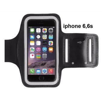 Armband สายรัดแขนใส่โทรศัพท์ออกกำลังกาย iphone 6 plus สีดำ