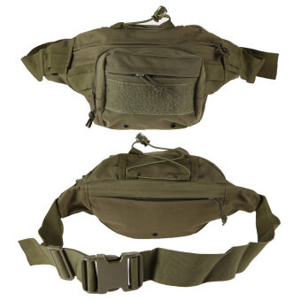 Army Green Outdoor Military Tactical Waist Pack Shoulder Bag MollePouch