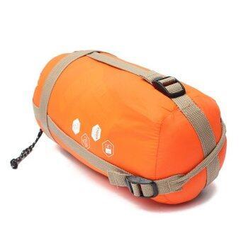 Audew NEW Outdoor Envelope Sleeping Bag Camping Travel HikingMultifuntion Ultra-light Orange - Intl