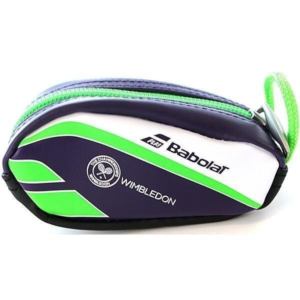 Babolat กระเป๋าสำหรับใส่อุปกรณ์เบ็ดเตล็ด RACKET HOLDER KEY RING WIMBLEDON (สีดำ/สีน้ำเงิน/สีขาว)