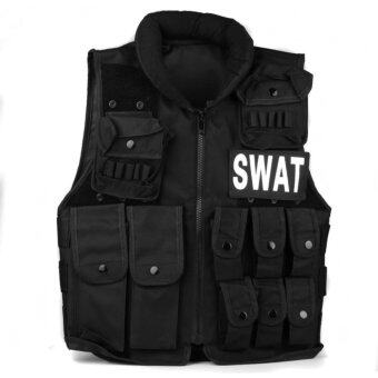 beautiful Military SWAT Tactical Vest Paintball Army Combat AssaultAirsoft Hunting Black