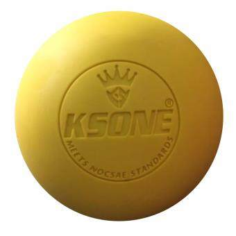 BEGINS ลูกบอลนวด คลายกล้ามเนื้อ Lacrosse Rubber Massage Ball(สีเหลือง)