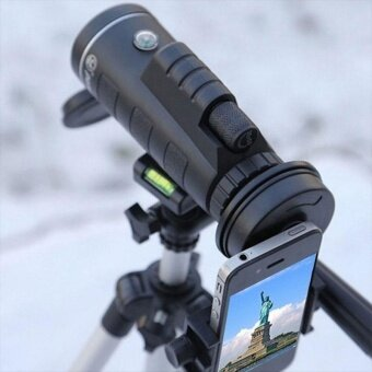 Bellamall 40X60 HD Pro Optics Outdoor Travel Monocular Telescope Phone Lens with Tripod - intl