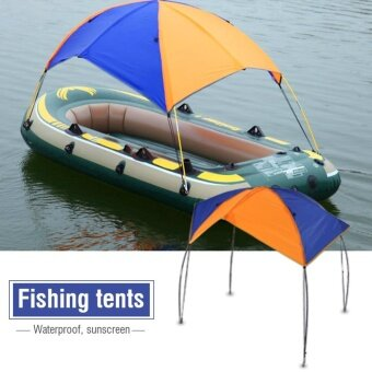 Boat Sun Shelter Sailboat Awning Cover Fishing Tent Sun Shade (2persons) - intl