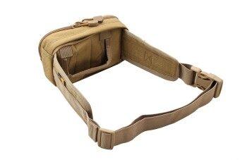 Bogie1 กระเป๋าคาดเอวซ่อนปืน สีทราย ผ้าคอนดูล่าแท้ Hidden Pistol Waist Bag