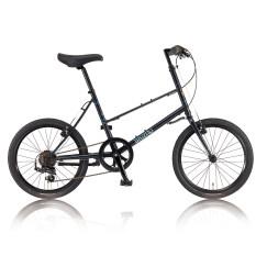 Bruno จักรยานมินิสไตล์วินเทจรุ่น Mixte (Matt Black)