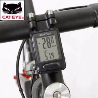 Cateye ไมล์จักรยาน รุ่น Velo 9 ( Black )