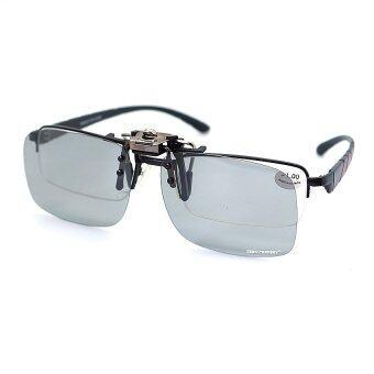ราคา Clip On เปิดปิด ZEEN PERFECT รุ่น Polarized Photocromic [Auto Black Lens]