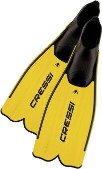 Cressi Rondinella Yellow Snorkeling Fins Swimming Fins