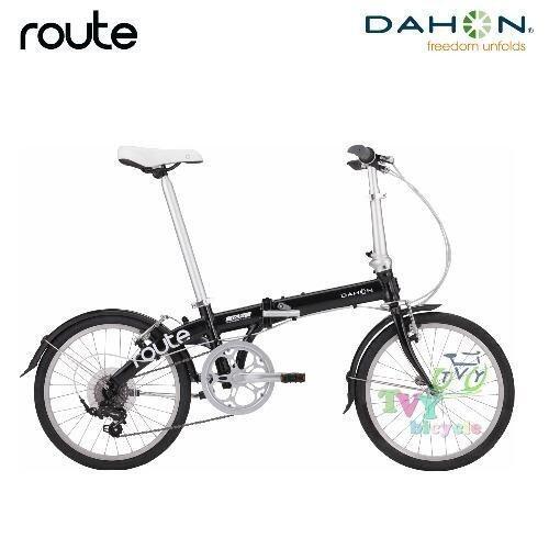 Dahon จักรยานพับได้ รุ่น Route (สีดำ)