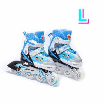 Doraemon รองเท้าอินไลน์สเก็ต โดราเอมอน เบอร์ 33-41 (L) Inline Skate Doraemon (Blue) Size L (image 0)